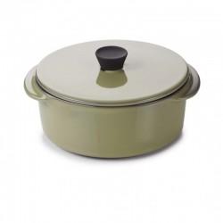 Naczynie do zapiekania z pokrywką poj. 250 ml Caractere Revol ciemna zieleń