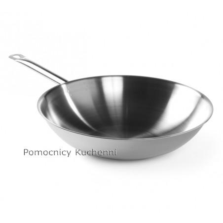 Patelnia wok, stal nierdzewna śr. 36cm HENDI 839003