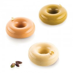Forma silikonowa pączki DONUTS GOURMAND 80 ml Silikomart Professional