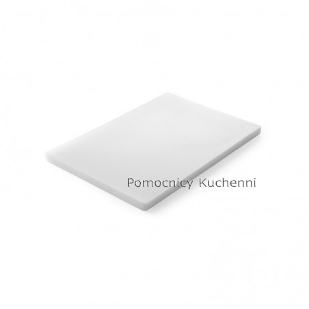 Deska do krojenia 45x30x2 cm biała HENDI 826379