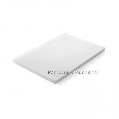 Gruba deska do krojenia biała 50x35 h 1,8cm HENDI 826386