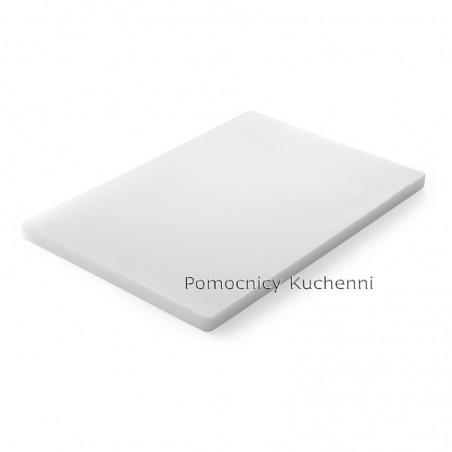 Deska do krojenia 60x40x2 cm biała HENDI 826393