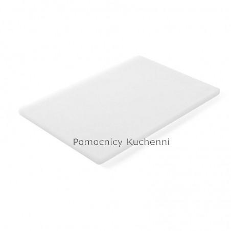 Gruba deska do krojenia biała 45x30 h 1,27 cm HACCP - HENDI 825518