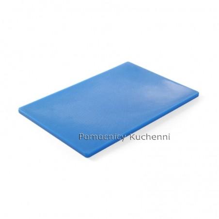 Deska do krojenia 45x30x1,27 cm niebieska HACCP - HENDI 825532