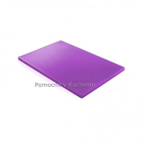 Deska do krojenia 45x30x1,27 cm fioletowa HACCP - HENDI 825570