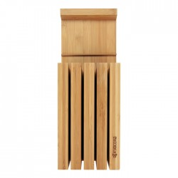 Bambusowy blok na noże Kyocera