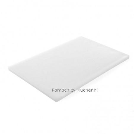 Deska do krojenia 60x40x1,8 cm biała HACCP - HENDI 825600