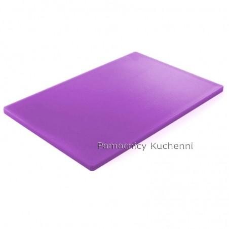 Deska do krojenia 60x40x1,8 cm fioletowa dla alergików HACCP - HENDI 825662