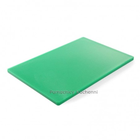Deska do krojenia 60x40x1,8 cm zielona HACCP - HENDI 825631