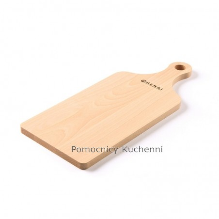 Deska kuchenna drewniana 39x16x1,3 cm z uchwytem HENDI 505106