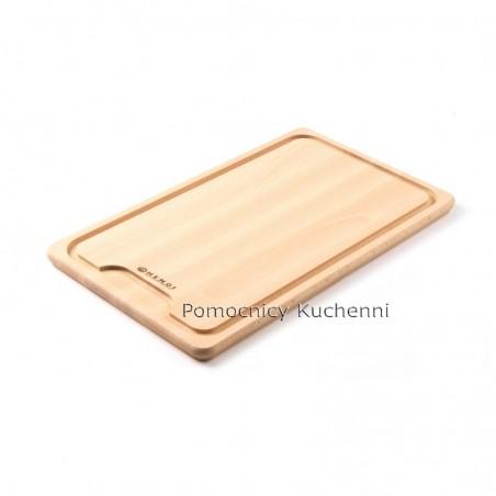 Deska drewniana z wcięciem 39x23cm HENDI 505205
