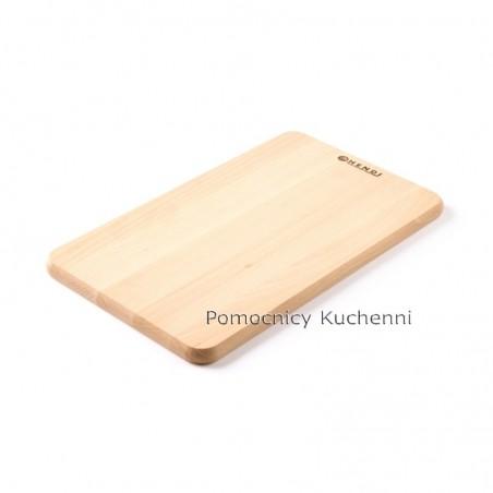 Deska kuchenna drewniana 34x20x1,4 cm HENDI 505007
