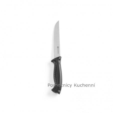Nóż do mięsa 15cm HACCP czarny - standard HENDI 842409
