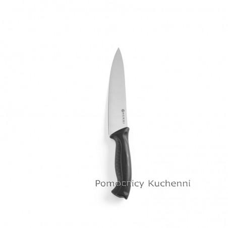 Nóż szefa kuchni 18cm HACCP czarny - standard HENDI 842607