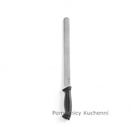 Nóż do szynki i łososia 35cm HACCP czarny - standard HENDI 842904