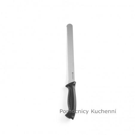 Nóż do chleba 25cm HACCP czarny - standard HENDI 843000