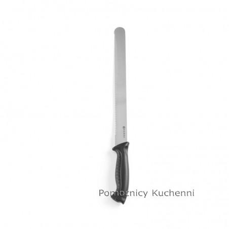 Nóż do chleba 30cm HACCP czarny - standard. HENDI 843109