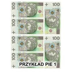 Wydruk jadalny banknoty -...
