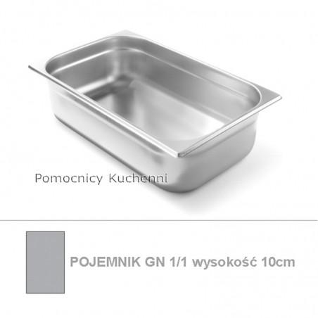 Pojemnik GN 1/1 poj. 14l - 53x32,5cm wys. 10cm BUDGET LINE HENDI 800133
