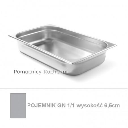 Pojemnik GN 1/1 poj. 9l - 53x32,5cm wys. 6,5cm BUDGET LINE HENDI 800126