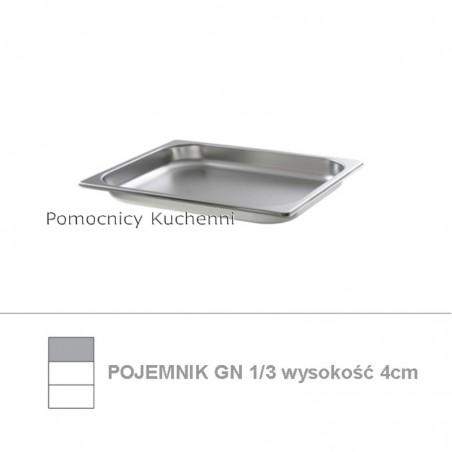 Pojemnik GN 1/3 poj. 1,5l - 32,5x17,6cm wys. 4cm BUDGET LINE HENDI 800416
