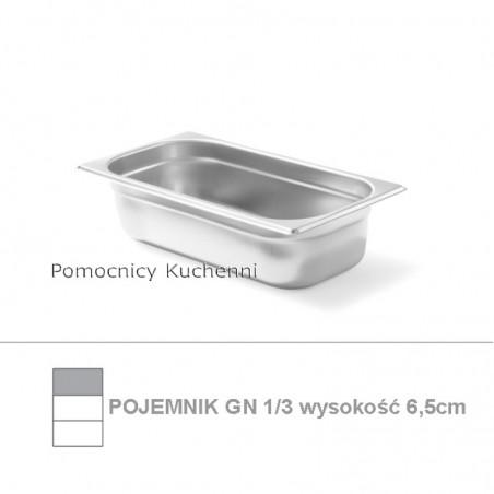 Pojemnik GN 1/3 poj. 2,5l - 32,5x17,6cm wys. 6,5cm BUDGET LINE HENDI 800423