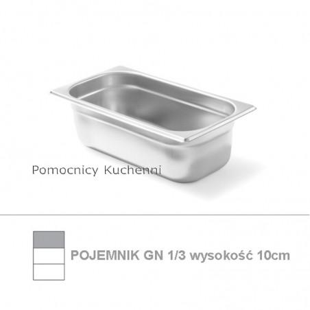 Pojemnik GN 1/3 poj. 4l - 32,5x17,6cm wys. 10cm BUDGET LINE HENDI 800430