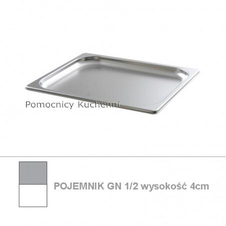 Pojemnik GN 1/2 poj. 1l - 32,5x26,5cm wys. 2cm BUDGET LINE HENDI 800300