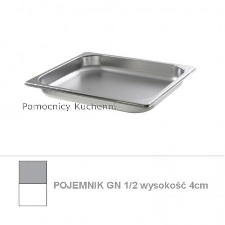 Pojemnik GN 1/2 poj. 2l - 32,5x26,5cm wys. 4cm BUDGET LINE HENDI 800317