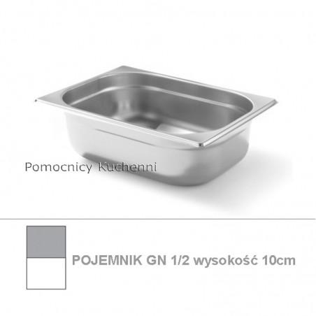 Pojemnik GN 1/2 poj. 6,5l - 32,5x26,5cm wys. 10cm BUDGET LINE HENDI 800331