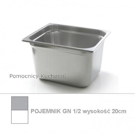 Pojemnik GN 1/2 poj. 12,5l - 32,5x26,5cm wys. 20cm BUDGET LINE HENDI 800355