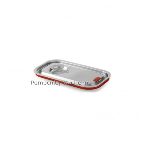 Pokrywka do pojemników GN 1/4 26,5x16,2cm z uszczelką silikonową BUDGET / KITCHEN LINE HENDI 804049
