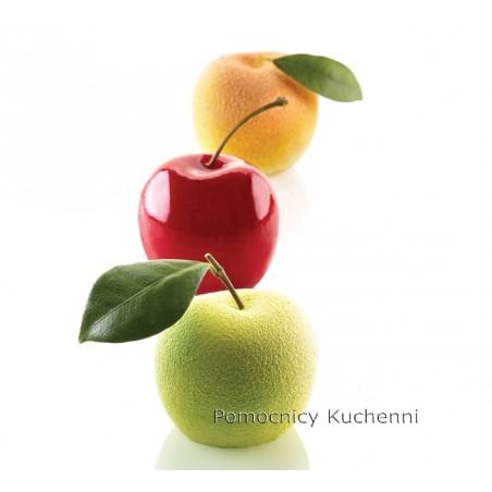 Forma silikonowa Owoce: jabłko, wiśnia, brzoskwinia śr.60 mm poj. 115ml Silikomart Professional