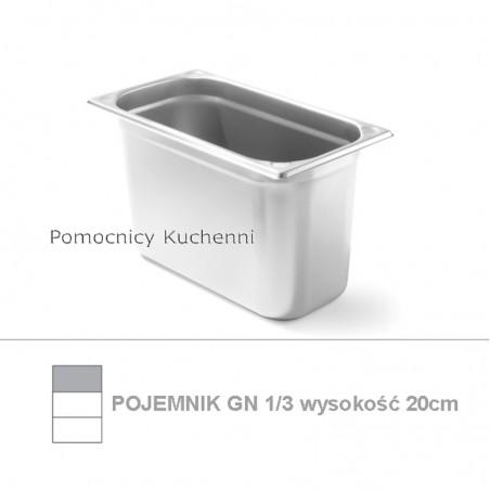Pojemnik GN 1/3 poj. 6,8l - 32,5x17,6cm wys. 20cm, wzmocniony KITCHEN LINE HENDI 806456