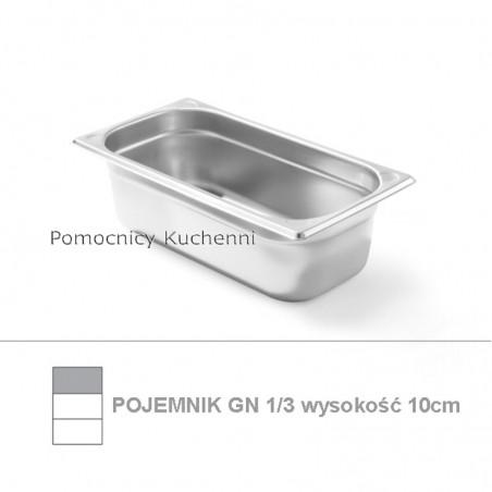 Pojemnik GN 1/3 poj. 3,4l - 32,5x17,6cm wys. 10cm, wzmocniony KITCHEN LINE HENDI 806432