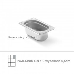 Pojemnik GN 1/9 poj.0,6l -...