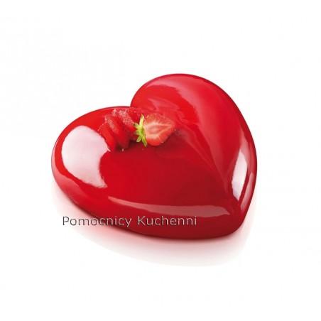Forma silikonowa serce AMORE 600ml 142x137mm Silikomart Professional