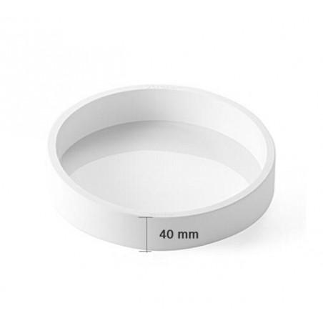 Forma silikonowa okrągła, koło śr. 24cm wys. 4cm poj.1804 ml TOR240/1 SILIKOMART PROFESSIONAL