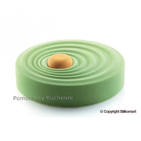 Forma silikonowa VAGUE kręgi wody śr.20cm wys.4,5cm poj. 1100ml Silikomart Professional