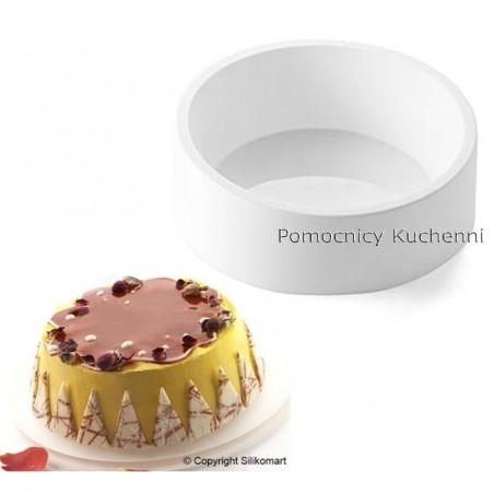 Forma silikonowa do ciasta genoise śr 19 16 cm wys.67 cm poj 1545ml Silikomart Professional