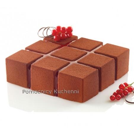 Forma silikonowa kostka cubik 172x172cm poj 1400ml Silikomart Professional