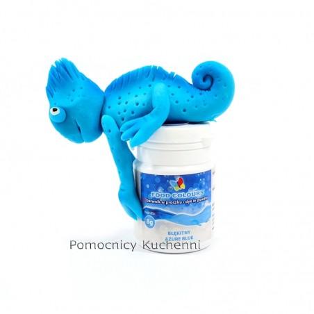 Barwnik spożywczy w proszku niebieski - błękit 8 g.