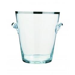Szklany cooler do wina...