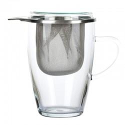 Kubek szklany z zaparzaczem...