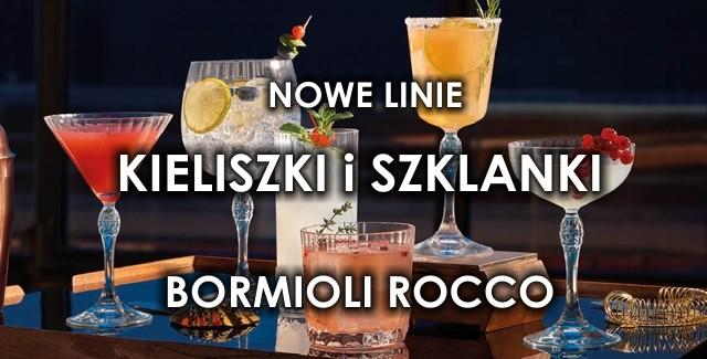 Nowa linia kieliszków i szklanek marki BORMIOLI ROCCO