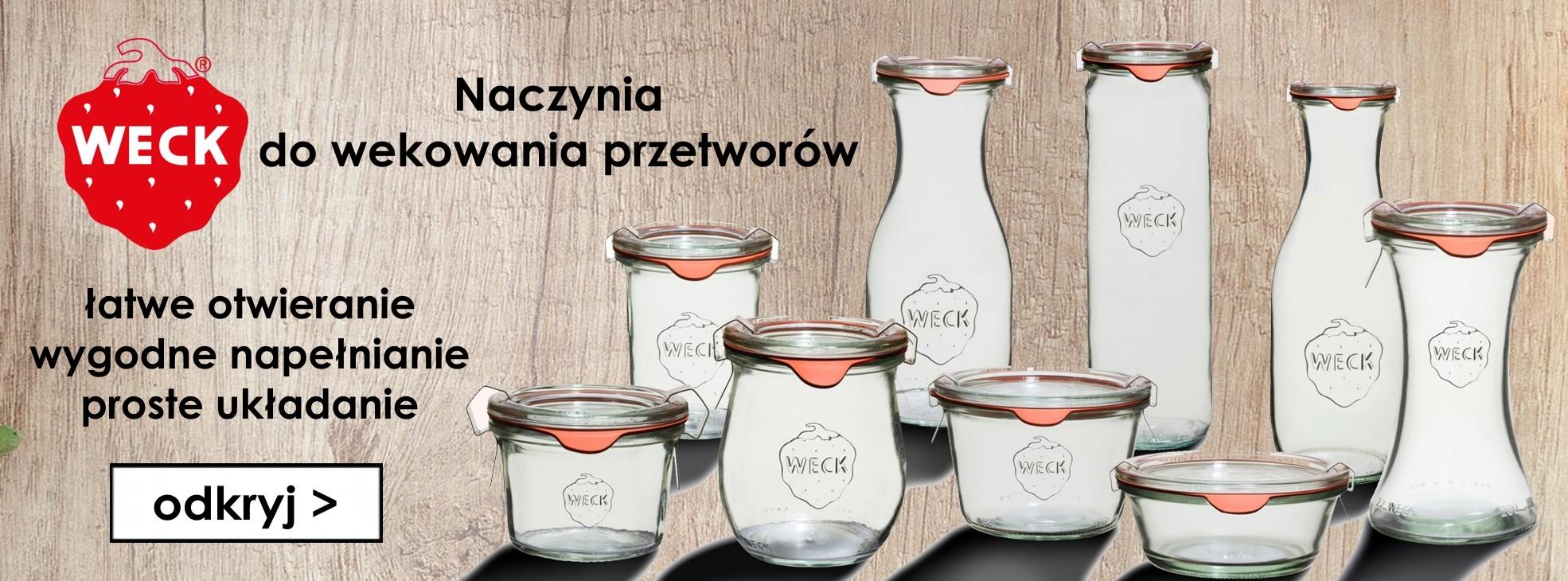 Nowość: szklane naczynia do przetworów marki WECK