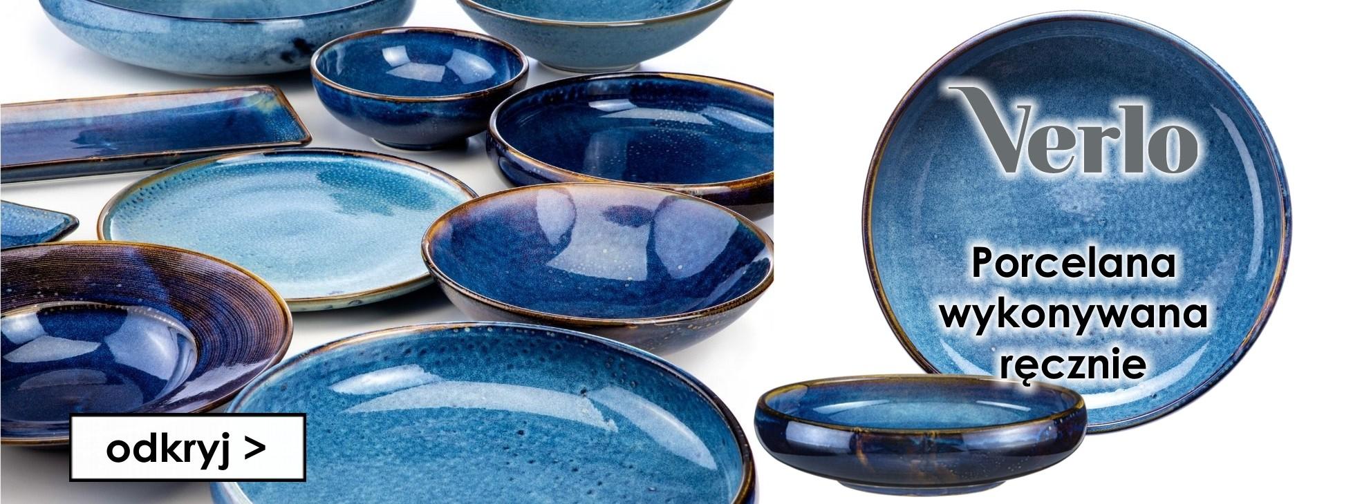 Nowa porcelana - wykonywana ręcznie marki VERLO