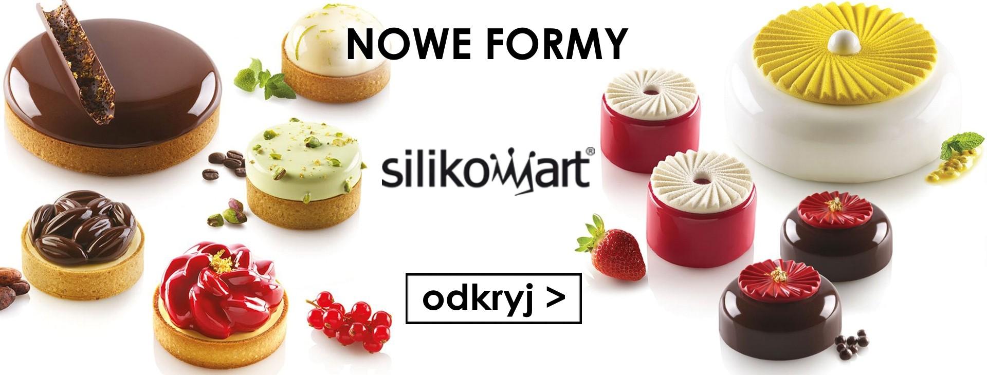Nowe formy silikonowe SILIKOMART