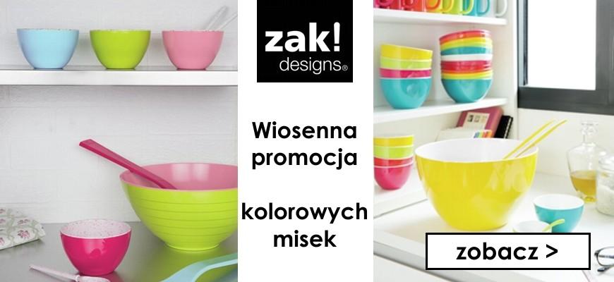 Wiosenna promocja kolorowych misek marki Zakdesigns