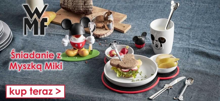 Naczynia i sztućce dla dzieci  - Myszka Miki